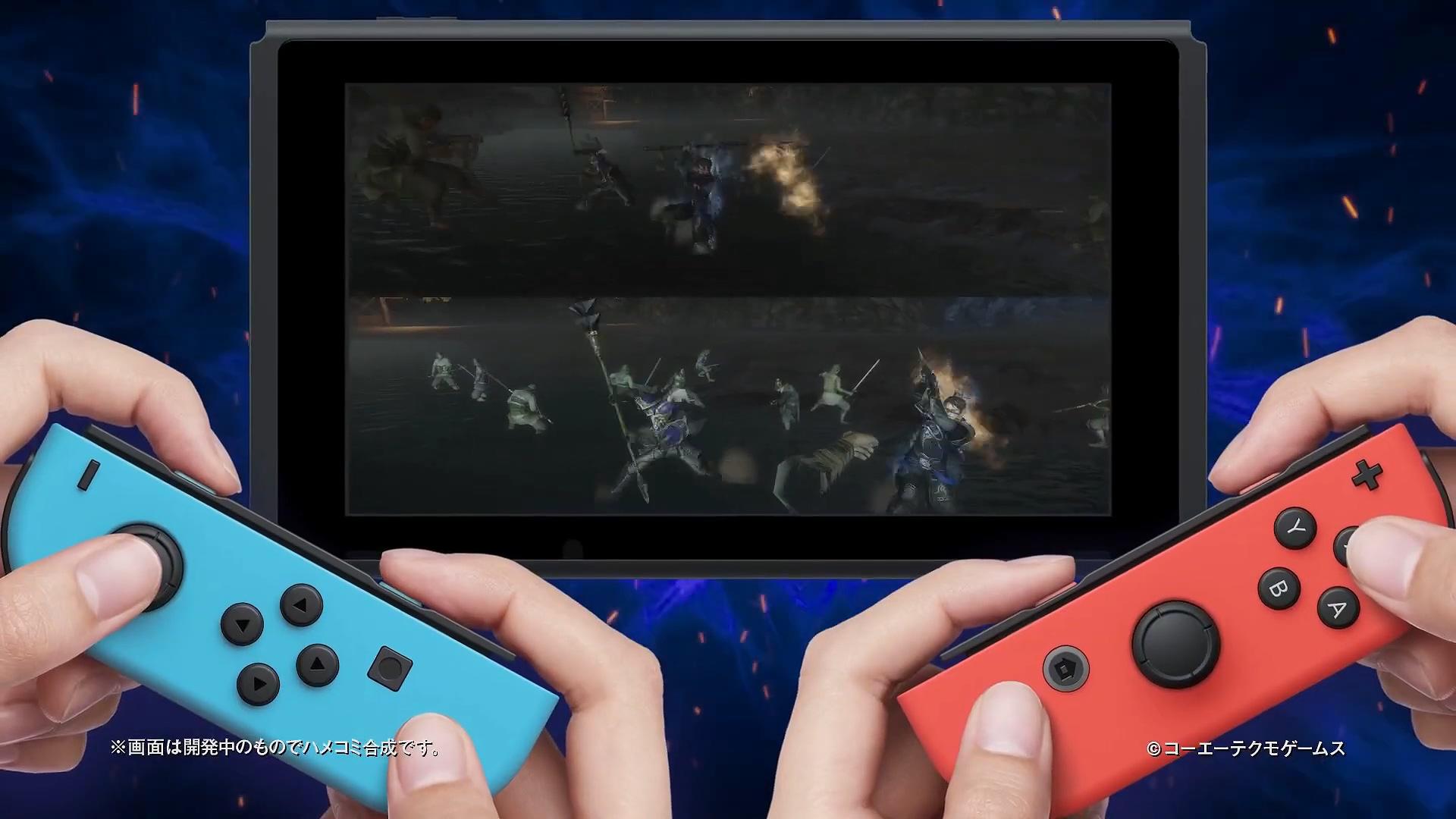Switch《真三国无双7猛将传DX》已包含千元DLC内容