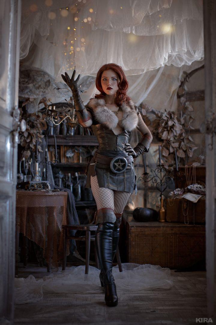 新闻资讯_俄罗斯美女COS《巫师》特莉丝 酥胸半露性感诱人_3DM单机