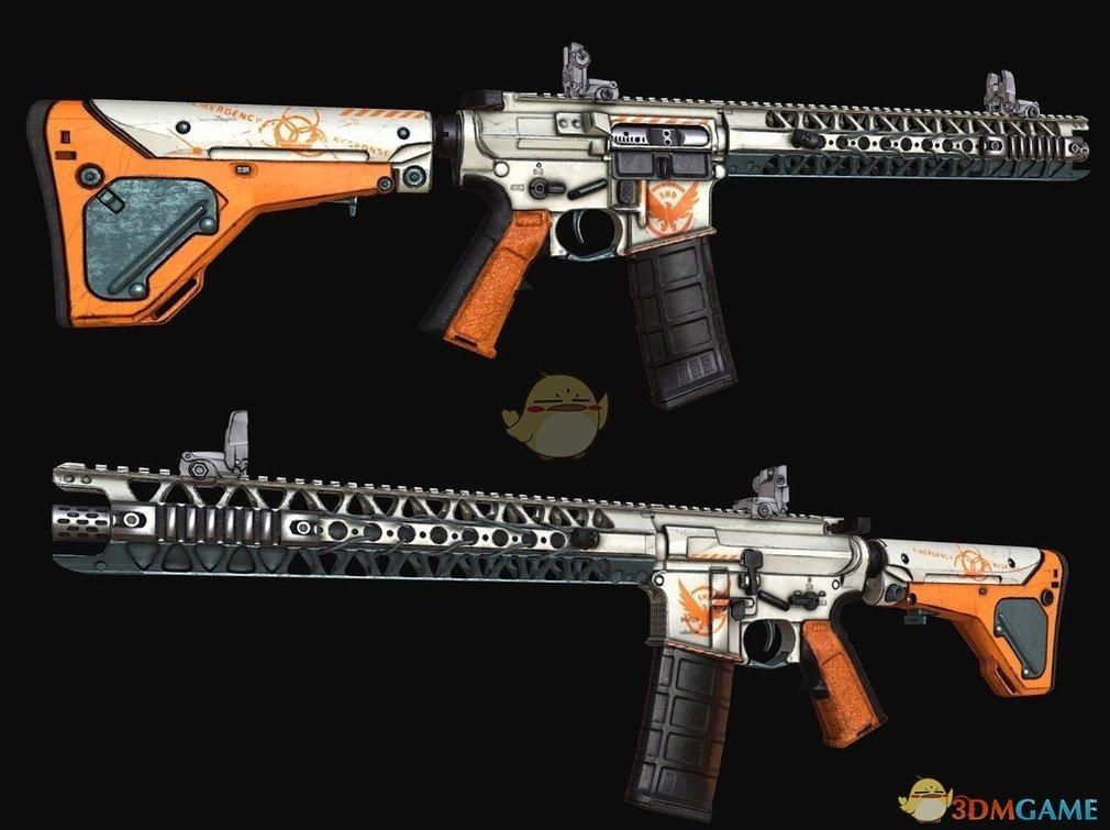 《侠盗猎车5》全境封锁风格武器MOD