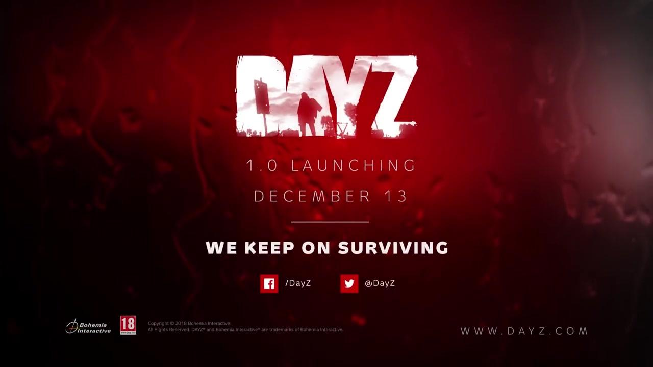 黄花菜都凉了?《DayZ》终于将在下周进入正式营运