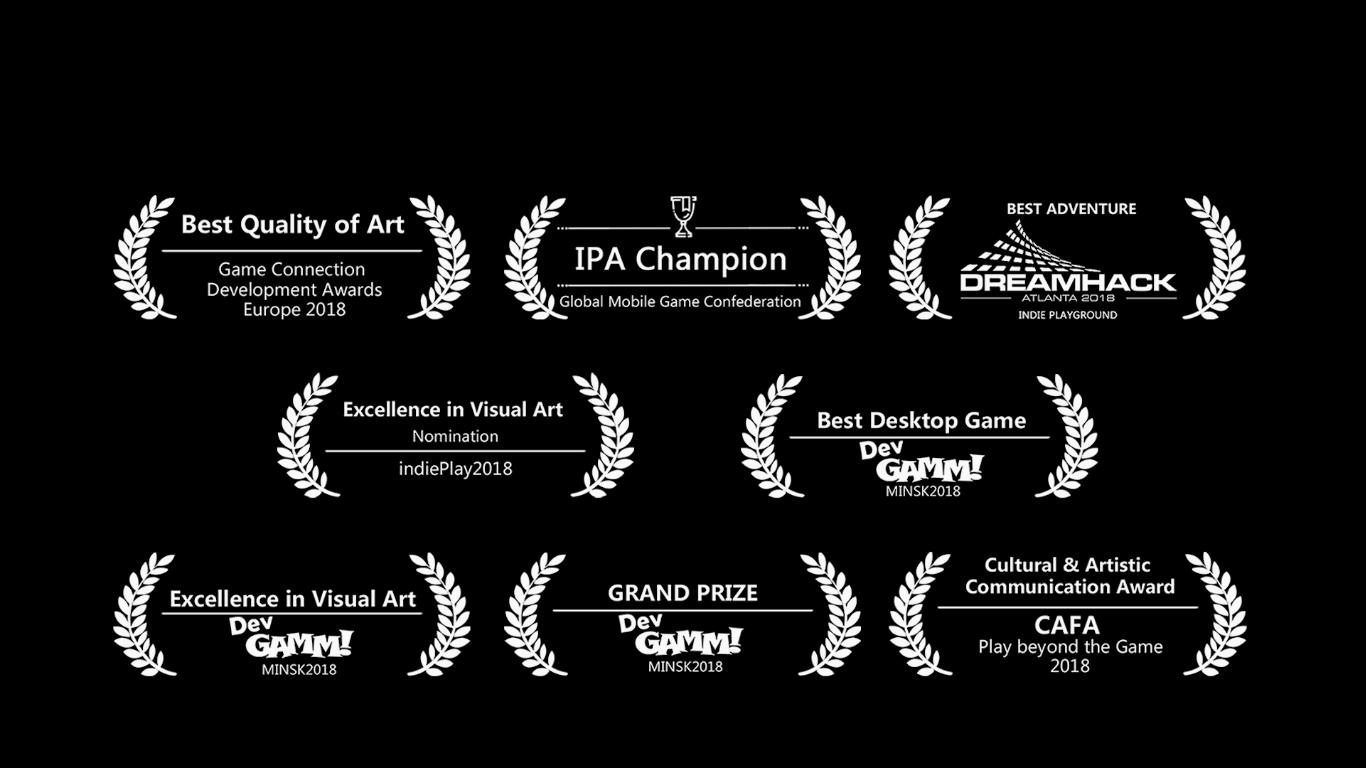 屡获国内外多个奖项的《彩虹坠入》正式于steam开售