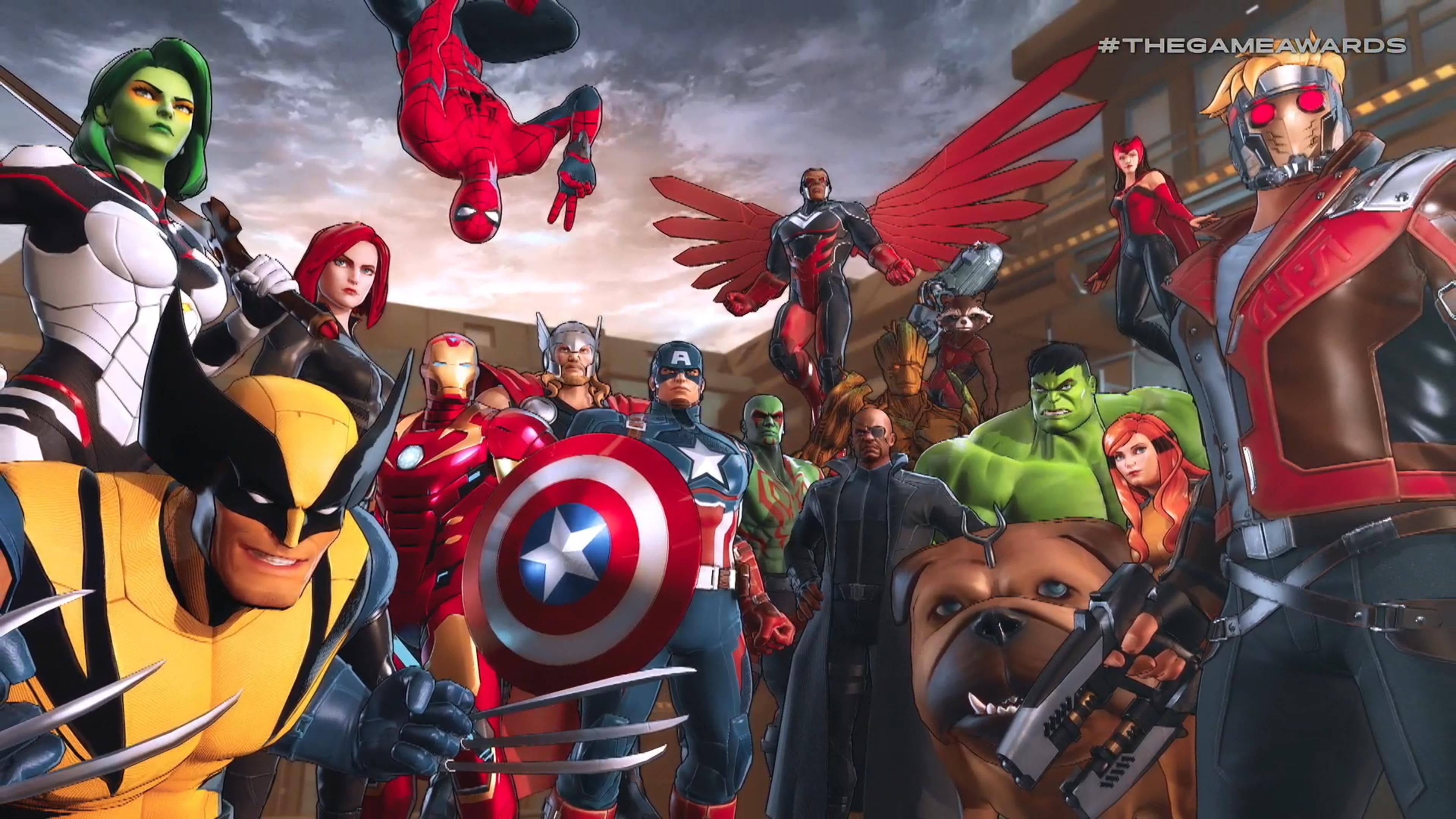 TGA 2018:Switch独占《漫画英雄:终极联盟3》发布