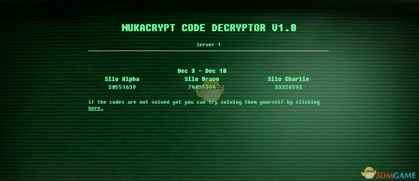 《辐射76》每周核弹密码获取方法分享