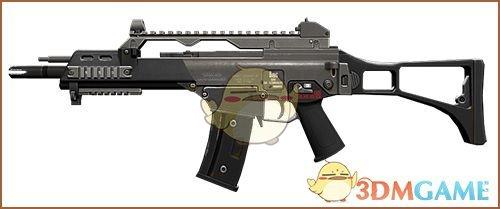 《绝地求生》雪地新枪G36C测评