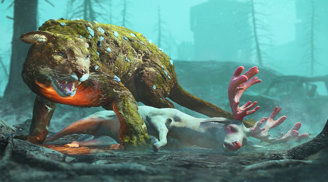 《孤岛惊魂:新曙光》动物纷纷变异 准备打BOSS战吧