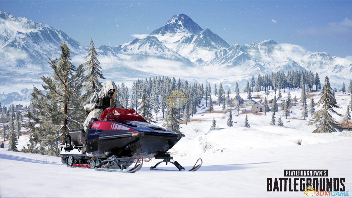 《绝地求生》新载具雪地摩托测评