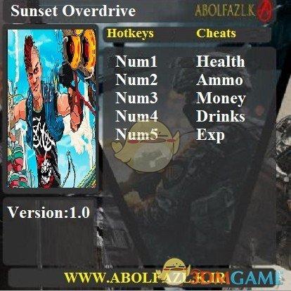 《日落过载》v1.0五项修改器[Abolfazl]