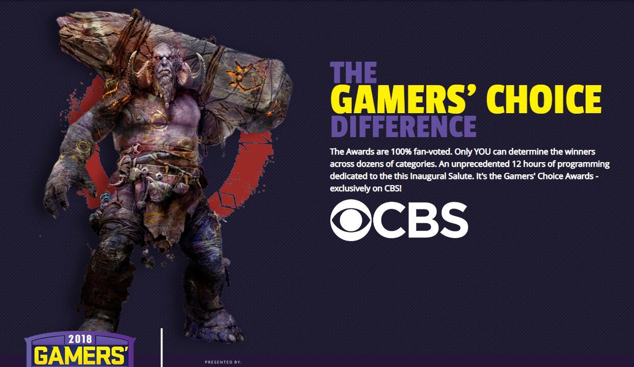 """CBS主办槽点多多 2019首届""""年度玩家选择奖""""获奖名单"""