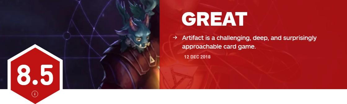 虽然硬核但却值得一玩! 《Artifact》 IGN终评8.5分