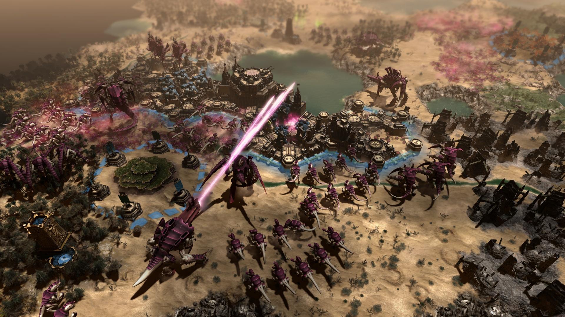 《战锤40K:格雷迪厄斯遗迹之战》泰伦虫族明日上线