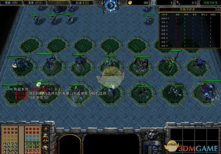 《终极守护者》v1.0.28[war3地图]