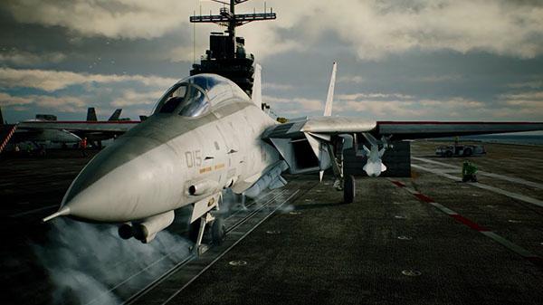 英雄迟暮F-14D 《皇牌空战7》战机介绍视频第六部
