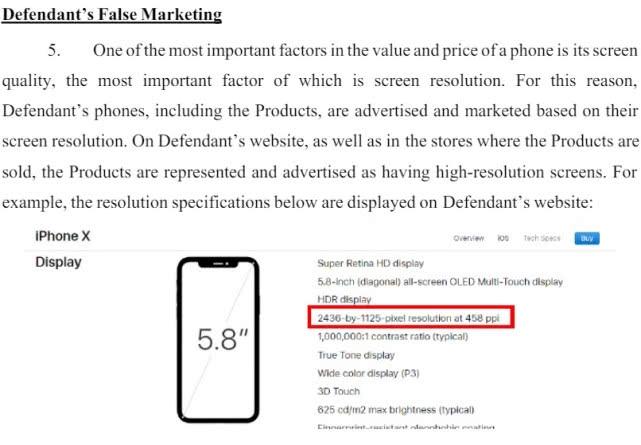 新网站Phone X尺寸和像素造假售?美国用户告状