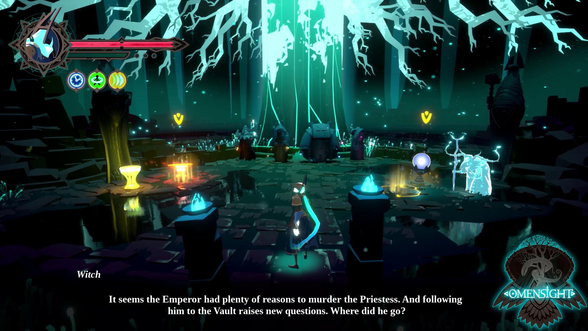 动作谋杀游戏《预兆景象》移植Switch宣传视频