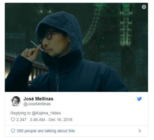 小岛秀夫推特发图回顾《合金装备2:自由之子》