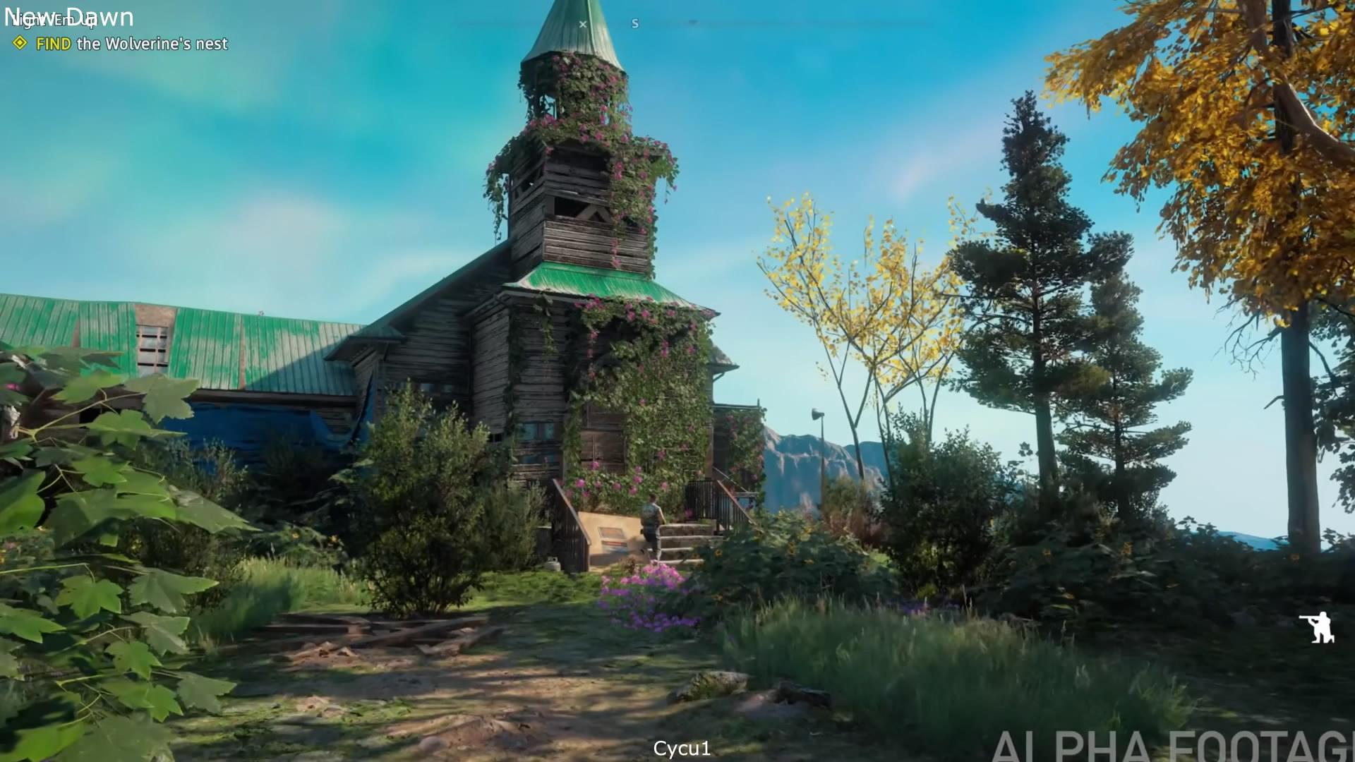 《孤岛惊魂:新曙光》对比《孤岛惊魂5》 风景更美了