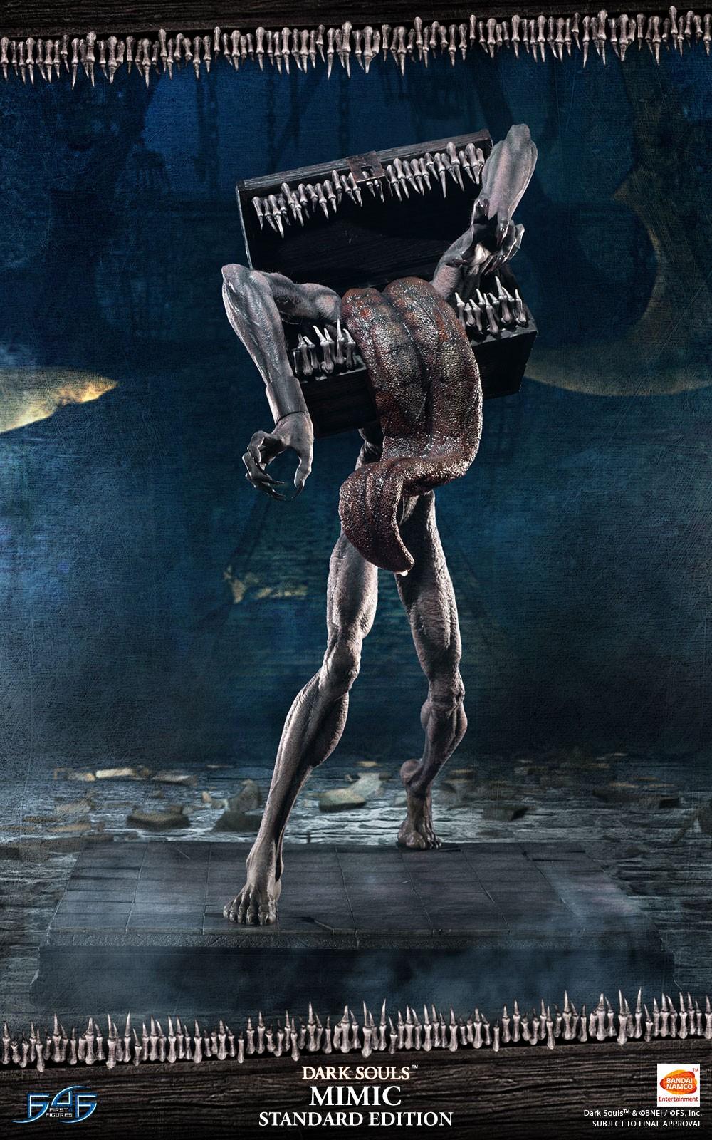 First 4推出《黑暗靈魂》寶箱怪手辦 駭人氣質完現