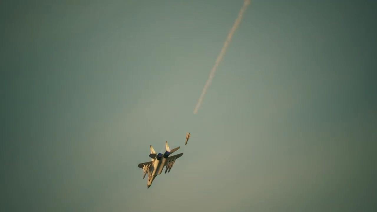 对抗F-15《皇牌空战7》战机介绍视频第七部MiG-29A