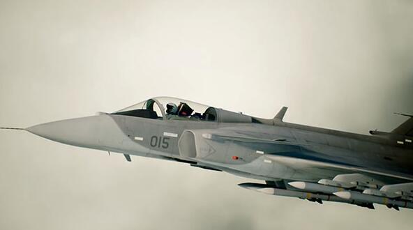 <b>小众风格《皇牌空战7》战机介绍视频第八部狮鹫战机</b>