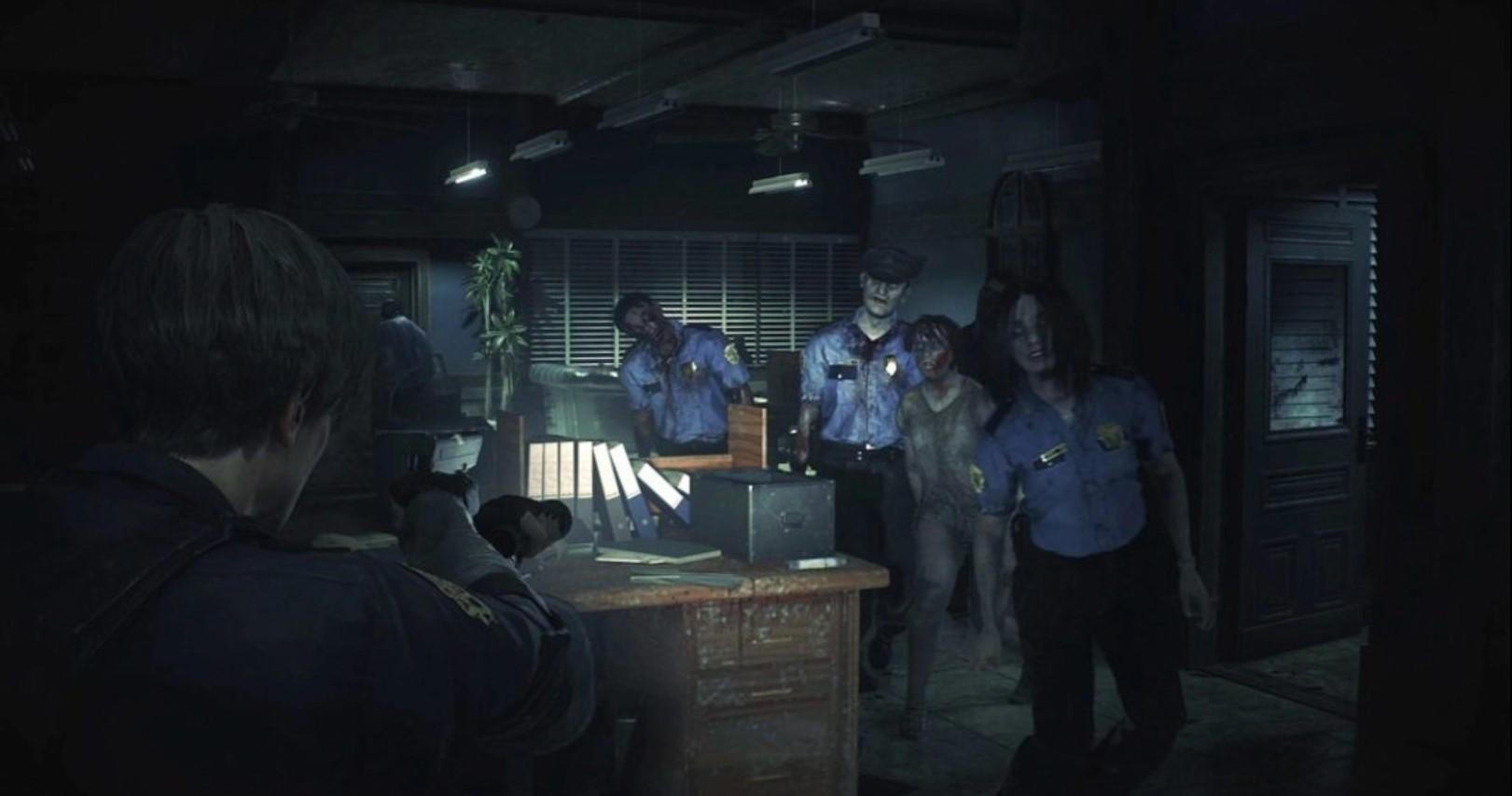 《生化危机2:重制版》将有自动瞄准模式 自动瞄准敌人的弱点