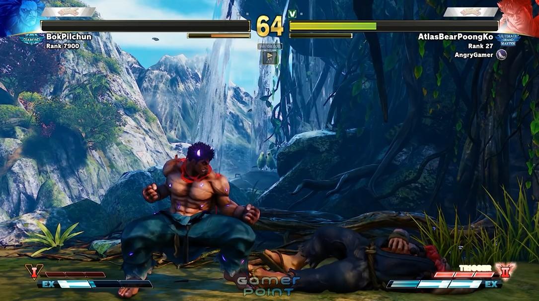 游戏新消息:强化进攻街霸5职业选手用新角色Kage实战视频