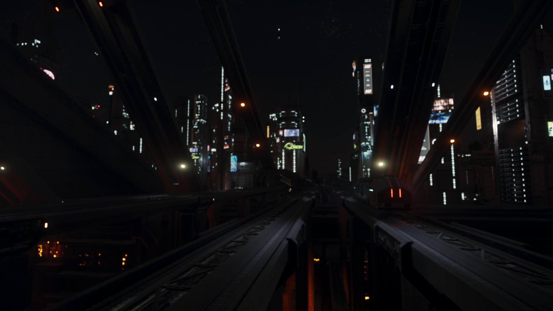 大作《星际公民》3.4版新截图 未来世界让人向往