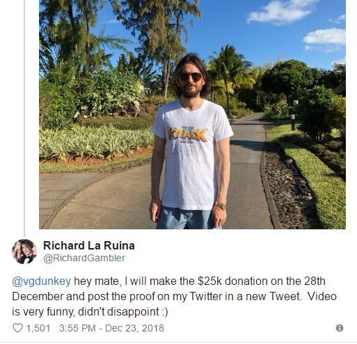 《超级情圣》开发者大方捐出2万5千美元 只为做慈善