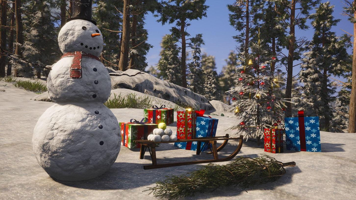 """生存大作《人渣》圣诞主题更新 给私处""""穿上外套"""""""