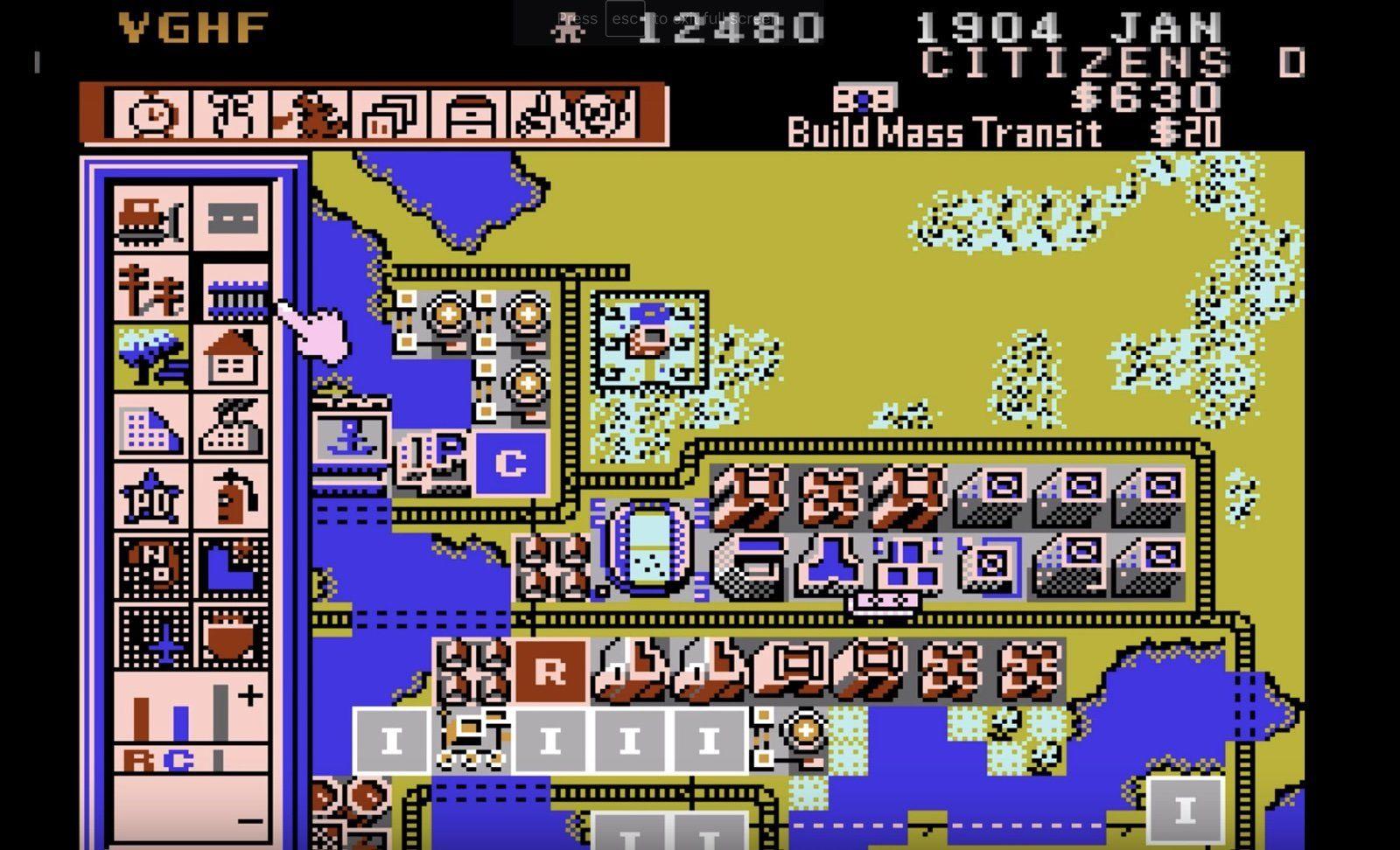 失落多年的神秘NES版《模拟城市》重现江湖