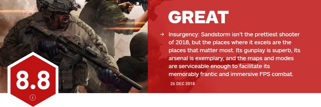 <b>教科书式的战斗设计!《叛变:沙漠风暴》IGN8.8分</b>
