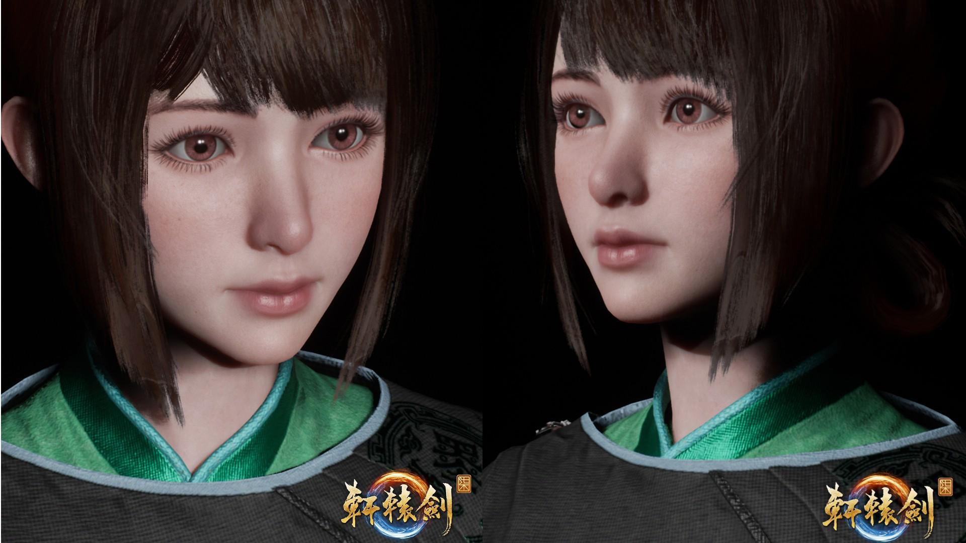 《轩辕剑7》女性角色建模曝光 大眼萌妹面庞精致