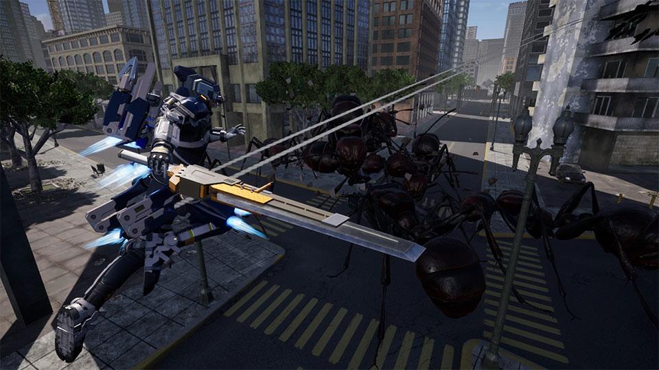 同步进化!PS4 《地球防卫军:铁雨》 最新兵种与怪物情报公开