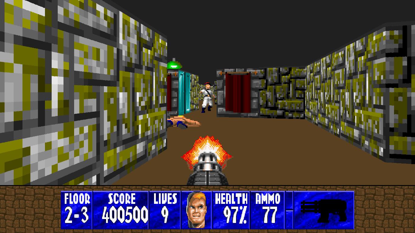 猎奇者专供 《德军总部3D》SFC版现已成功移植到PC