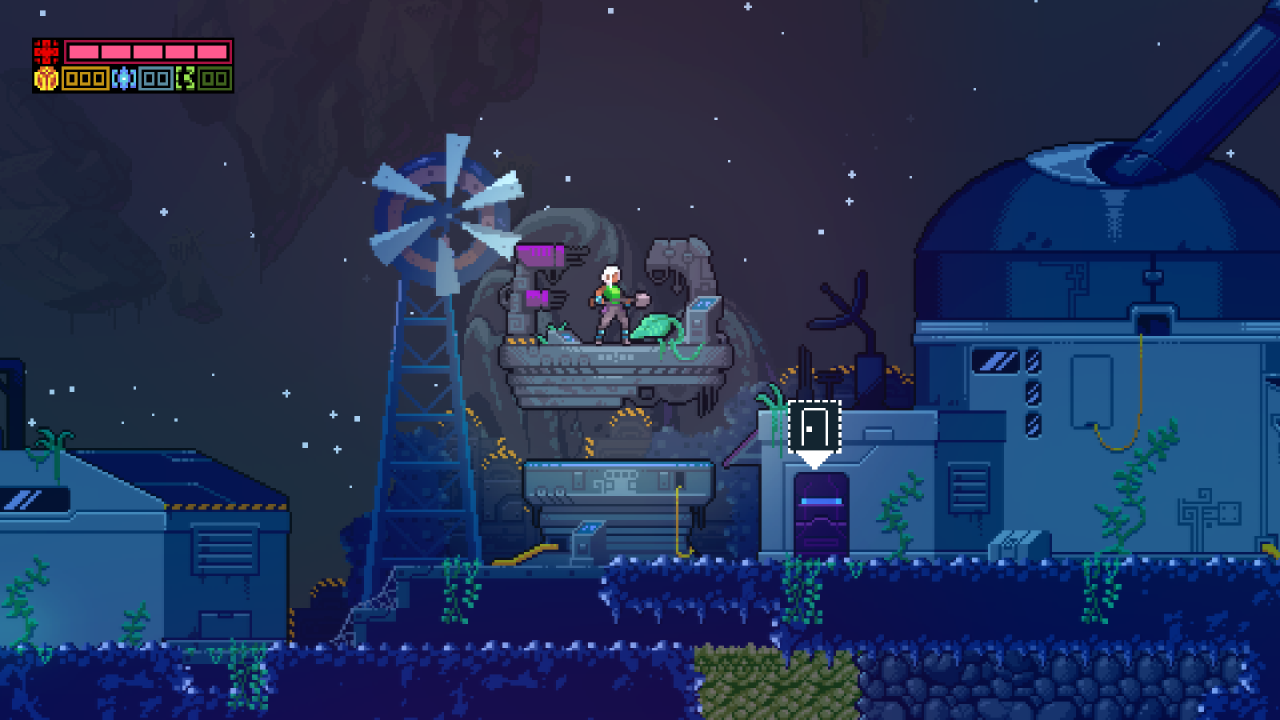 《蔚蓝》开发者横版游戏新作《破碎天空》遭取消