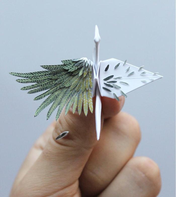 精美绝伦!高玩晒出独特创意超精细境界级纸鹤作品震翻网友