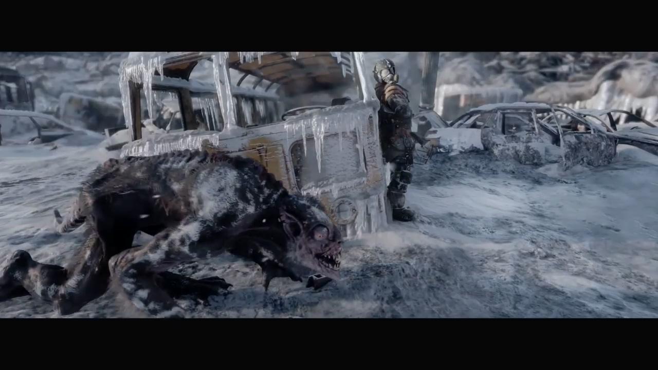 《地铁:逃离》52分钟演示曝光 画质惊艳、气氛惊悚