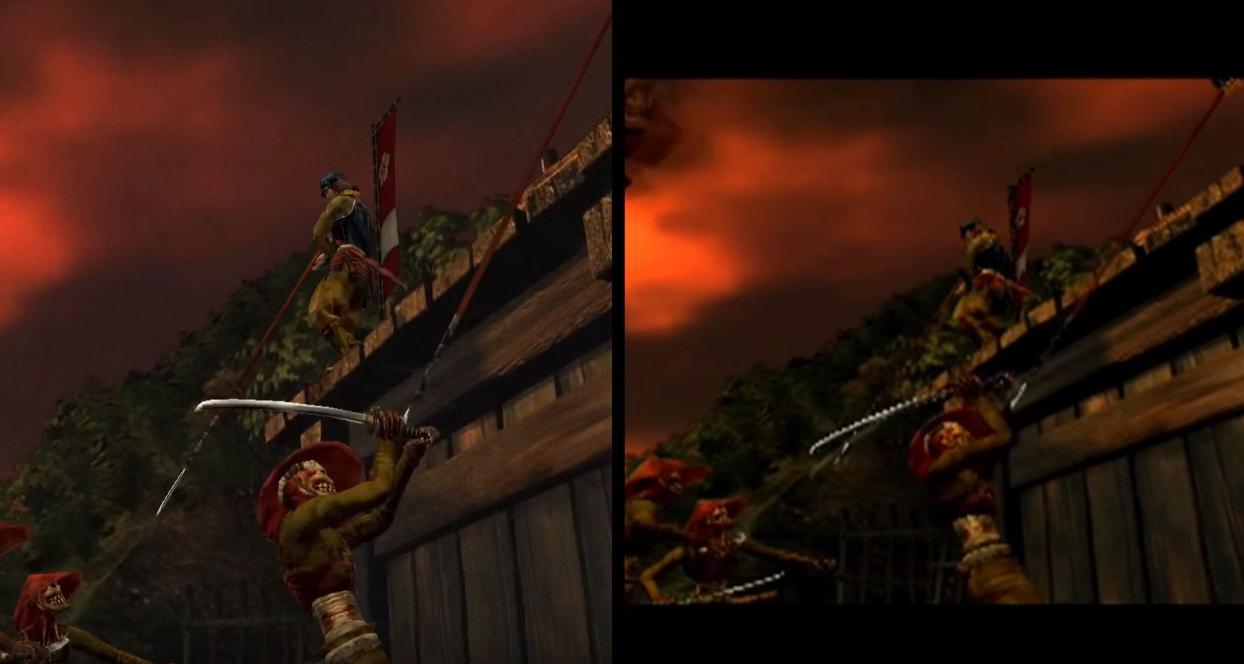 《鬼武者HD复刻版》Switch/PS2版对比 画面效果提升