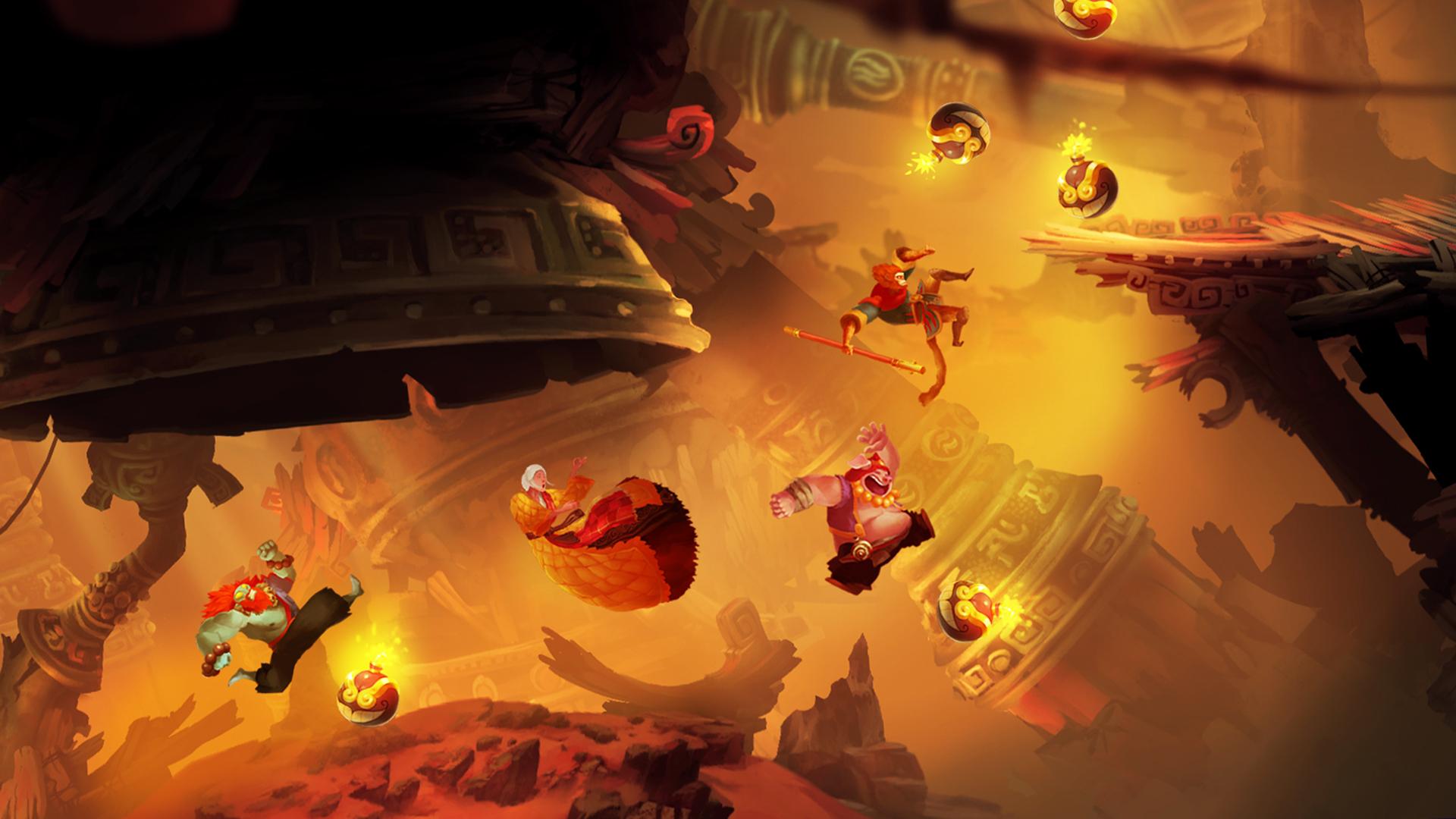 西游改编游戏《非常英雄》官网上线 体验美猴王传奇