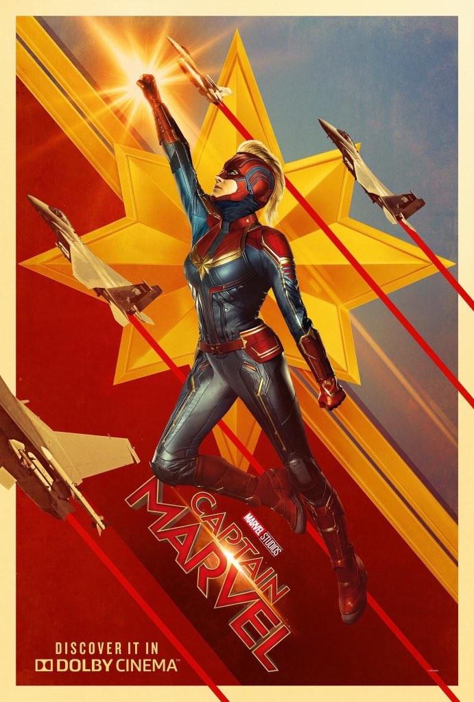 《惊奇队长》新海报公布 漫威未来领袖威武霸气