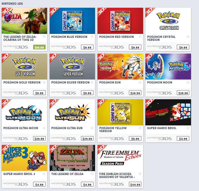 Humble商城今日起开售40款任天堂NS/3DS游戏