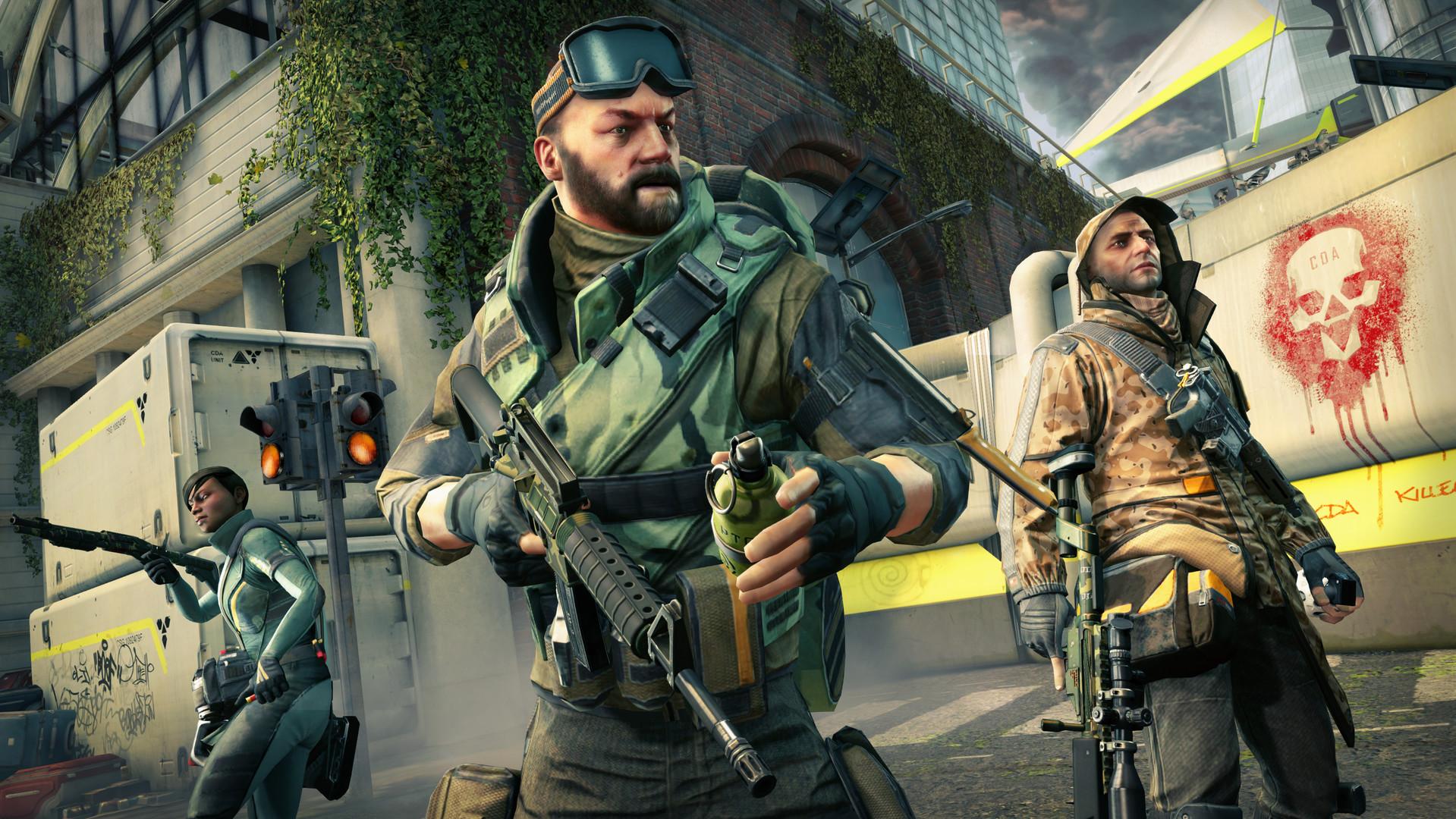 团队竞技FPS射击游戏《脏弹》STEAM平台免费
