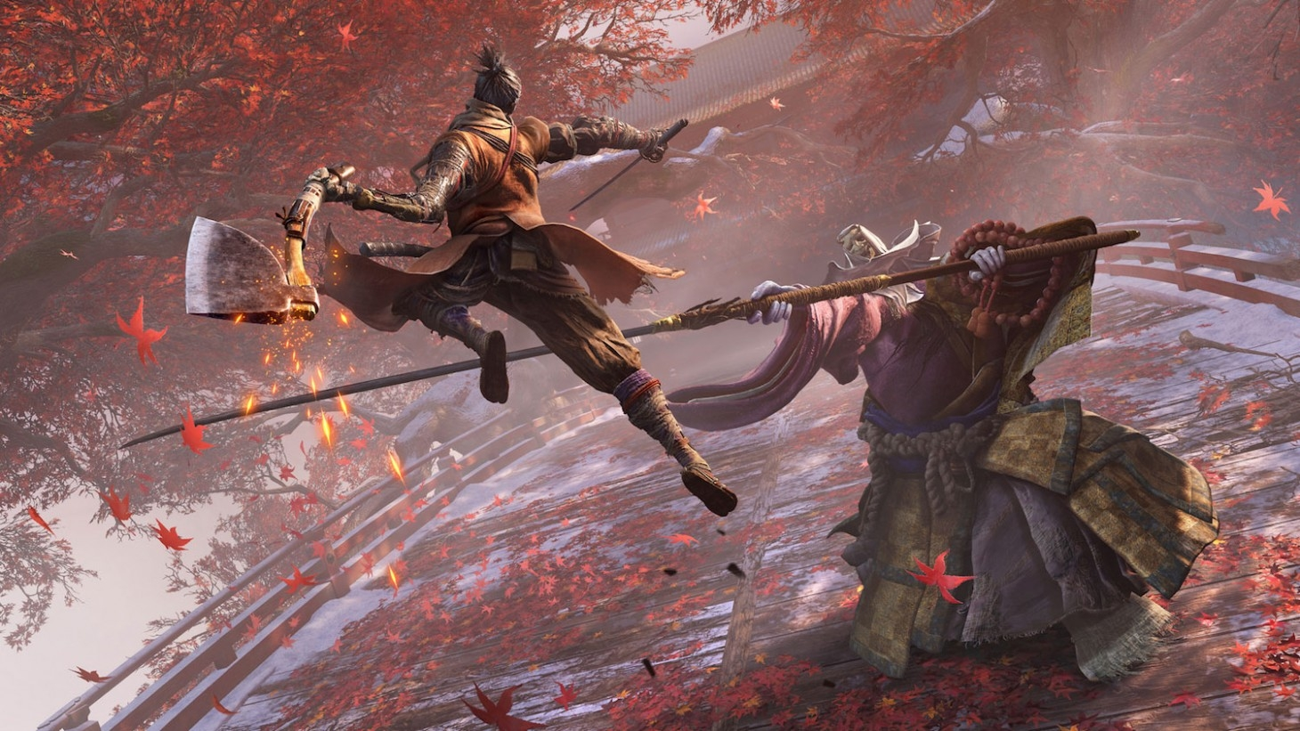 《只狼》包含玩家熟悉的中心区域 三名NPC全程辅助
