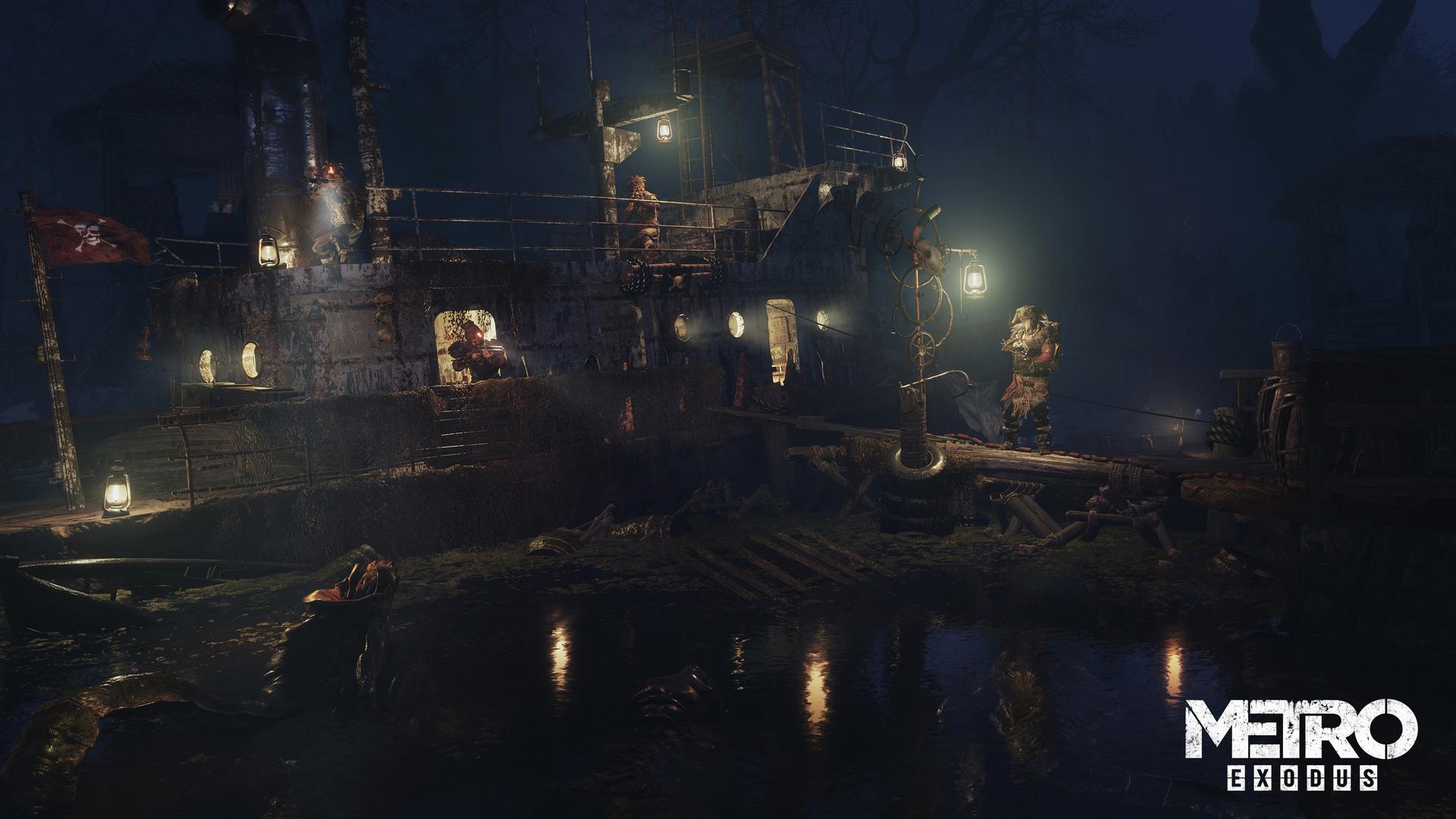 《地铁:逃离》大量新截图曝光 画面太美