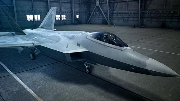 <b>猛禽出动《皇牌空战7》战机介绍视频第八部F-22A展示</b>