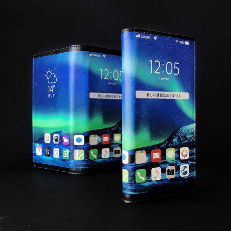 新手机壳让你倏得具有来日版折叠苹果手机个安