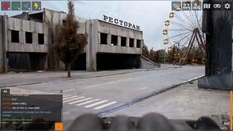 这款游戏玩法新颖 玩家远程遥控微型战车闯核电站