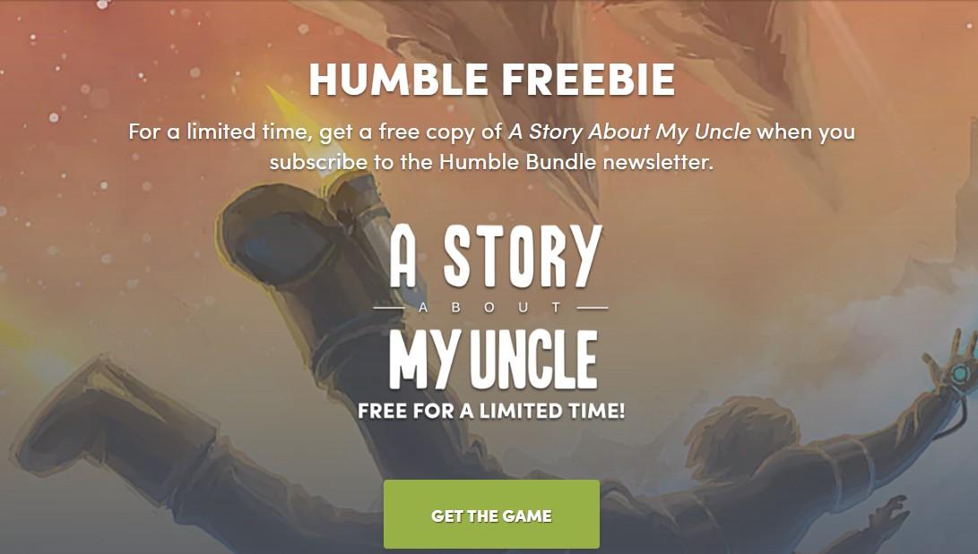 HB限时免费领取特别好评冒险游戏《叔叔的传说》