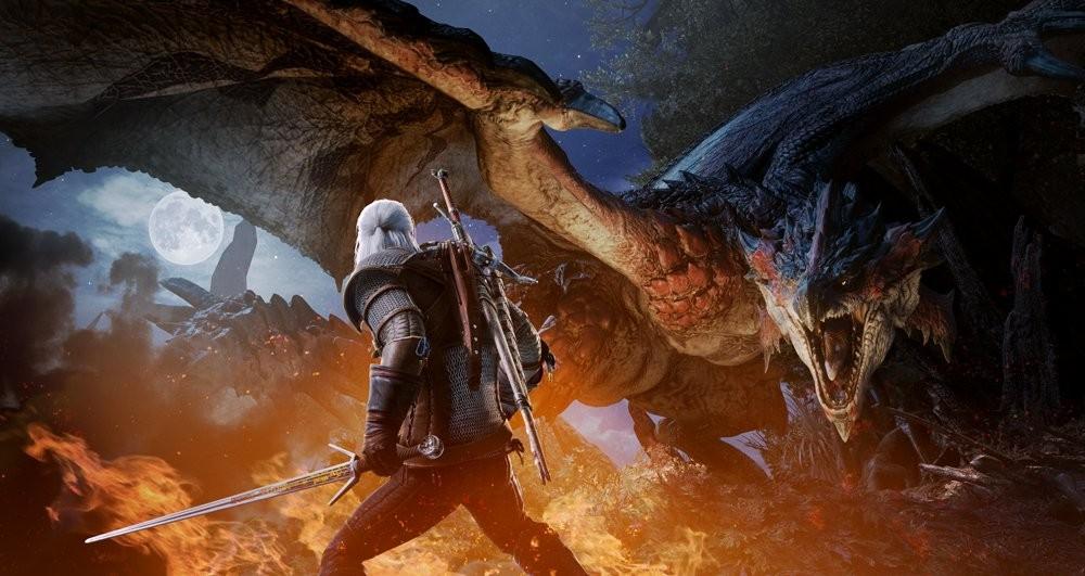 《怪物猎人:世界》《巫师3》联动活动2月8日开启
