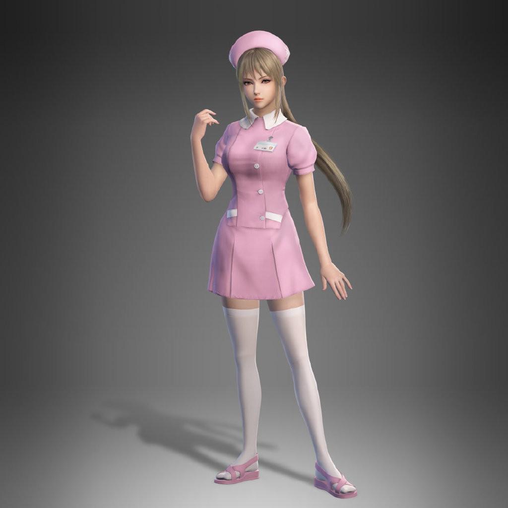 《真三国无双8》新服装DLC公布 王元姬护士服貂蝉新娘装