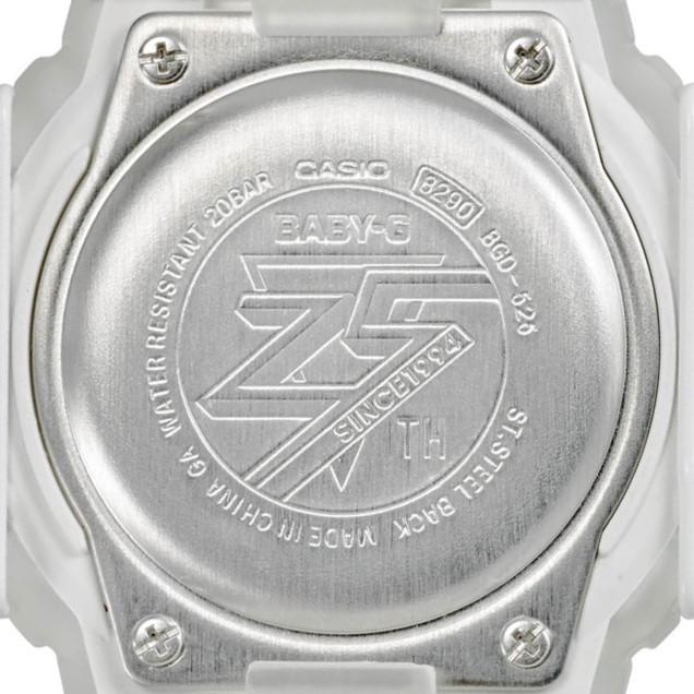 气质高雅!卡西欧推妹子款《BABY-G》25周年限定版复刻纪念表